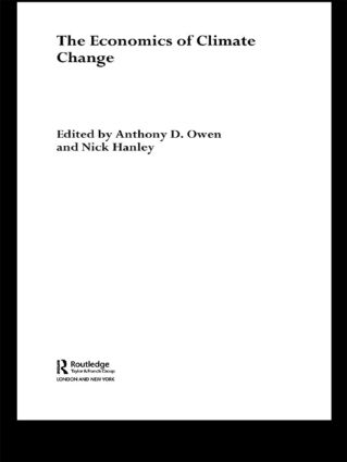 The Economics of Climate Change: 1st Edition (Paperback) book cover
