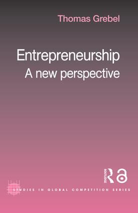 Entrepreneurship: A New Perspective, 1st Edition (Paperback) book cover