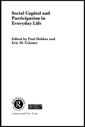 Social Capital and Participation in Everyday Life (Paperback) book cover
