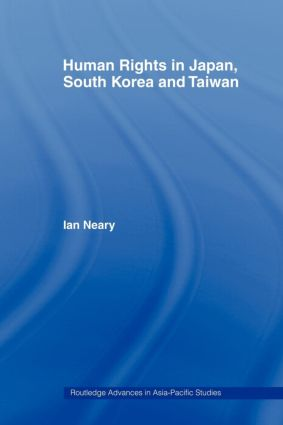 Human Rights in Japan, South Korea and Taiwan (Paperback) book cover