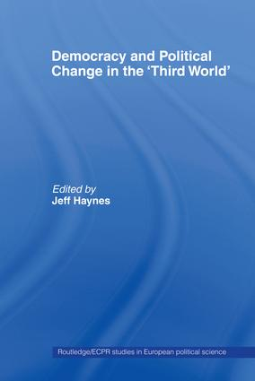 Democracy and Political Change in the Third World (Paperback) book cover