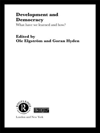Development and Democracy: What Have We Learned and How?, 1st Edition (Paperback) book cover