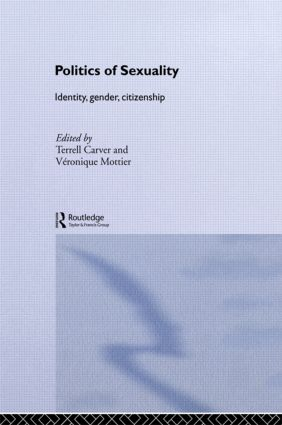 Politics of Sexuality: Identity, Gender, Citizenship (Paperback) book cover
