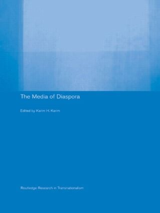 The Media of Diaspora: Mapping the Globe (Paperback) book cover