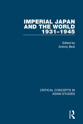 Imperial Japan and the World, 1931-1945 book cover