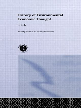 History of Environmental Economic Thought: 1st Edition (Paperback) book cover