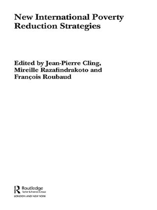 New International Poverty Reduction Strategies: 1st Edition (Paperback) book cover
