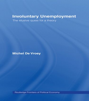 Involuntary Unemployment: 1st Edition (Paperback) book cover