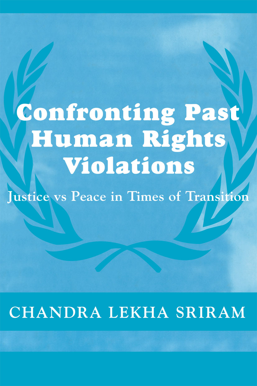 Confronting Past Human Rights Violations (Paperback) book cover