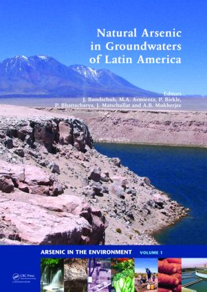 Natural Arsenic in Groundwaters of Latin America (Hardback) book cover