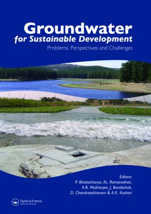 Groundwater for Sustainable Development: Problems, Perspectives and Challenges (Hardback) book cover