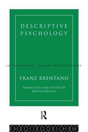 Descriptive Psychology