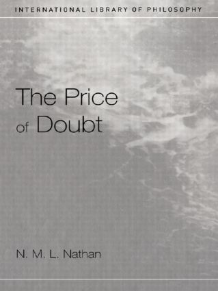 The Price of Doubt: 1st Edition (Paperback) book cover