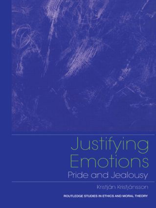Justifying Emotions: Pride and Jealousy book cover