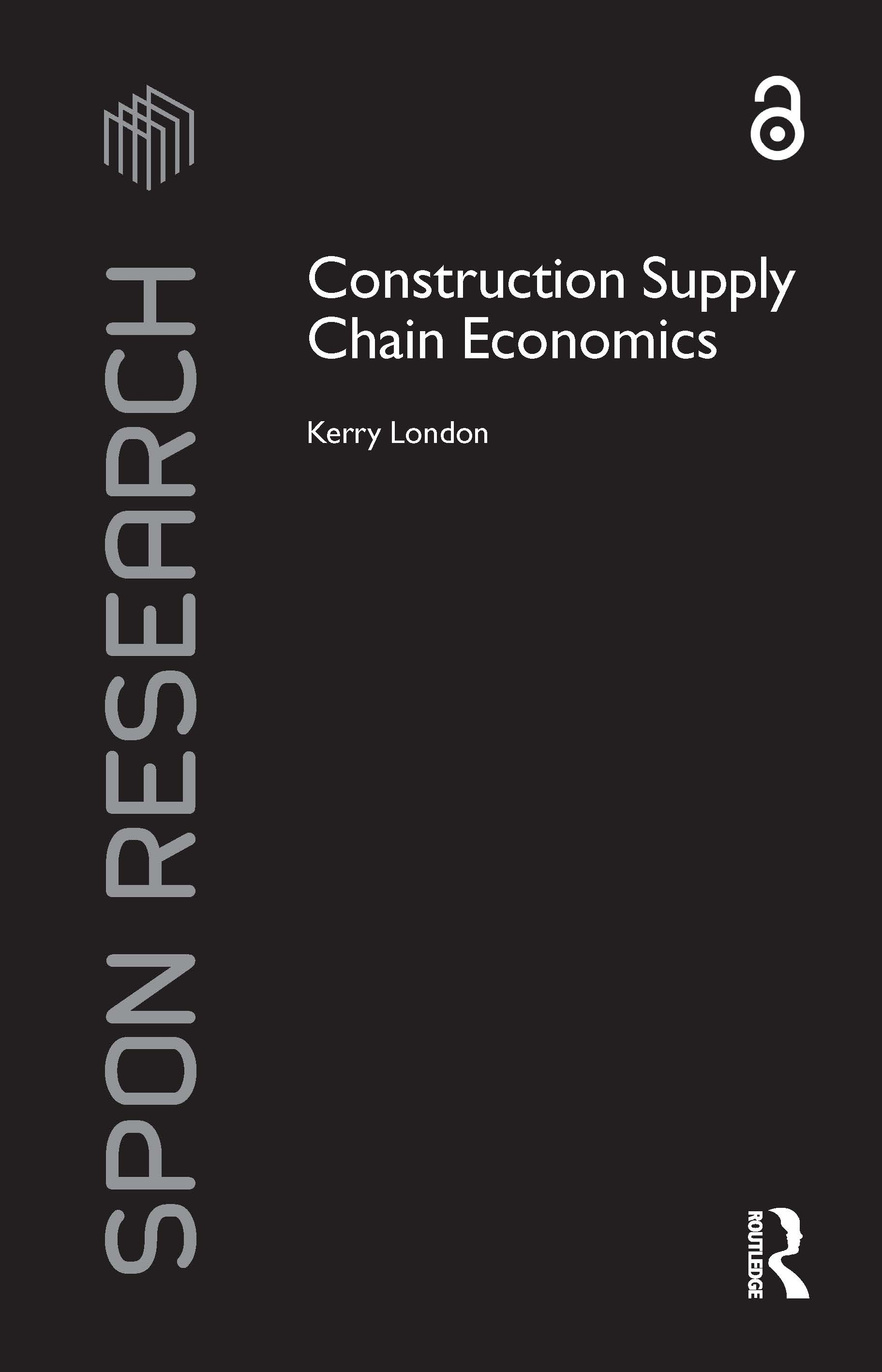 Construction Supply Chain Economics book cover