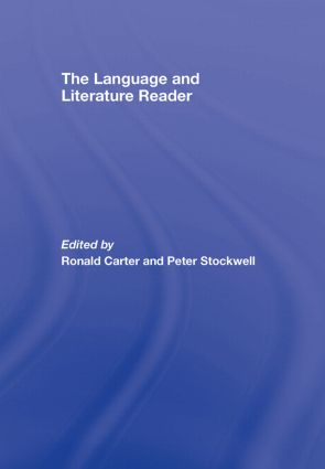 The Language and Literature Reader (Hardback) book cover