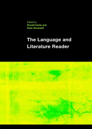 The Language and Literature Reader (Paperback) book cover