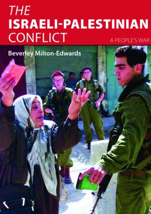 The Israeli-Palestinian Conflict: A People's War (Paperback) book cover