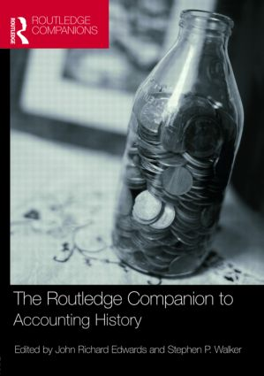 The Routledge Companion to Accounting History book cover