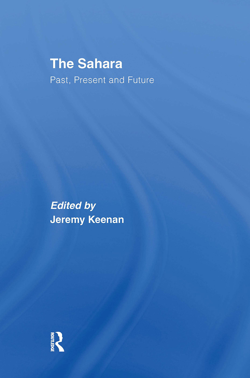 The Sahara: Past, Present and Future (Hardback) book cover