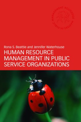 Human Resource Management in Public Service Organizations (Paperback) book cover
