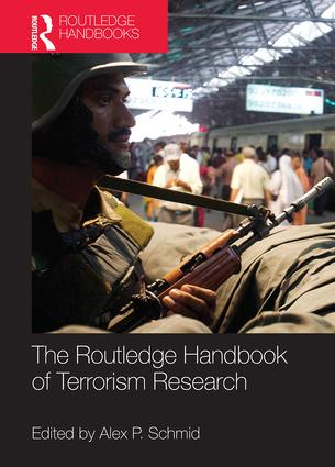 The Routledge Handbook of Terrorism Research (Hardback) book cover