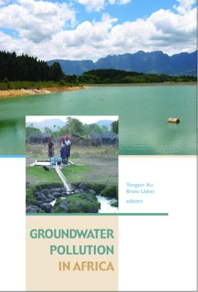 Groundwater Pollution in Africa: 1st Edition (Hardback) book cover