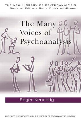 The Many Voices of Psychoanalysis book cover