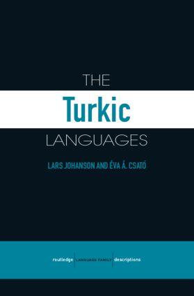 The Turkic Languages (Paperback) book cover