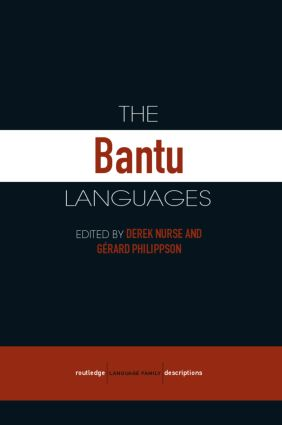 The Bantu Languages book cover