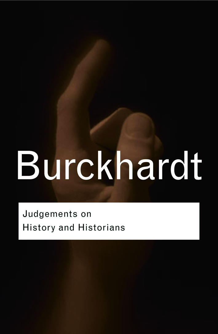 Judgements on History and Historians book cover