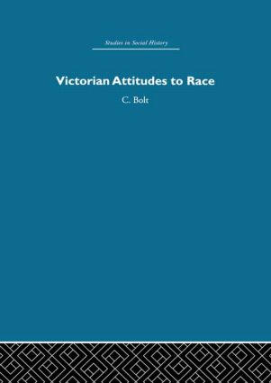 Victorian Attitudes to Race book cover