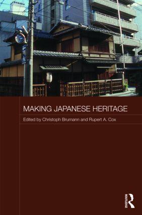 Making Japanese Heritage (Hardback) book cover