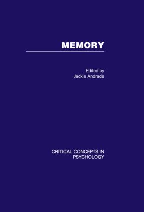 Memory: 1st Edition (Hardback) book cover