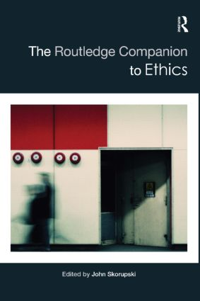 The Routledge Companion to Ethics (Hardback) book cover