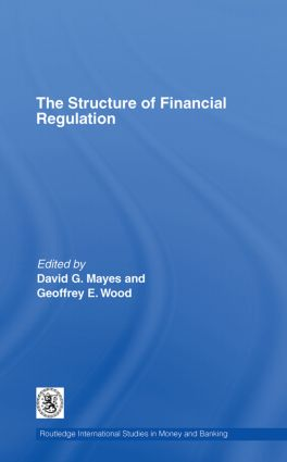 The Structure of Financial Regulation (Hardback) book cover