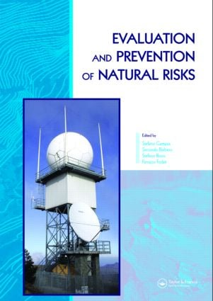 Evaluation and Prevention of Natural Risks: 1st Edition (Hardback) book cover