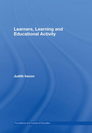 Learners, Learning and Educational Activity book cover