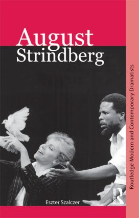August Strindberg (Paperback) book cover