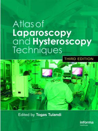 Atlas of Laparoscopy and Hysteroscopy Techniques: 3rd Edition (Hardback) book cover