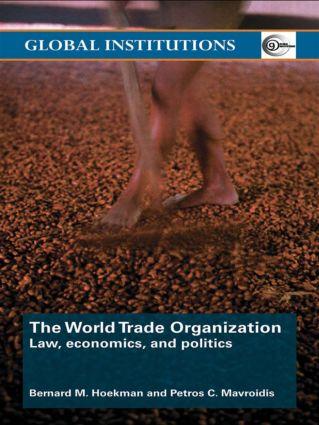 World Trade Organization (WTO): Law, Economics, and Politics (Paperback) book cover