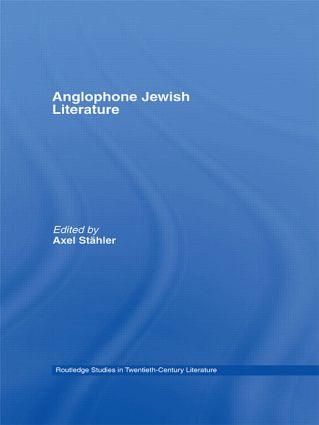 Anglophone Jewish Literature (Hardback) book cover