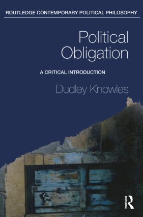 Political Obligation: A Critical Introduction book cover