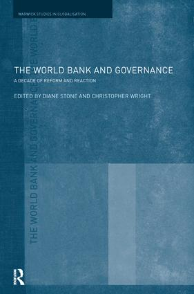 The World Bank and Governance: A Decade of Reform and Reaction (Paperback) book cover
