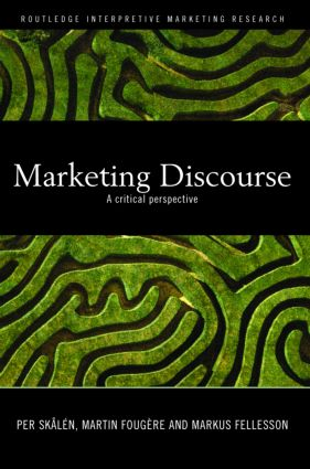 Marketing Discourse: A Critical Perspective book cover