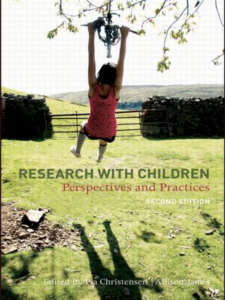 Research With Children: Perspectives and Practices, 2nd Edition (Paperback) book cover