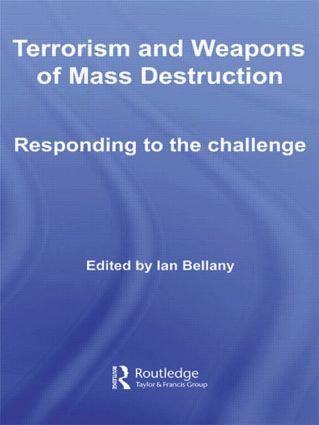 Terrorism and Weapons of Mass Destruction: Responding to the Challenge (Hardback) book cover