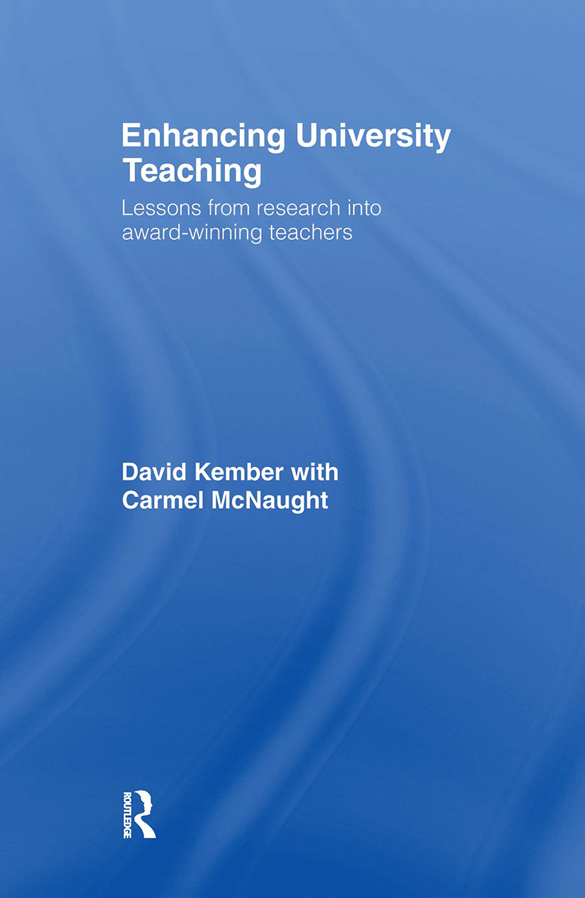 Enhancing University Teaching: Lessons from Research into Award-Winning Teachers, 1st Edition (Hardback) book cover