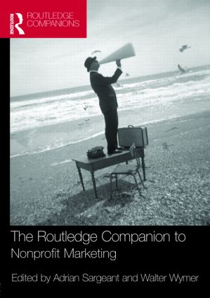 The Routledge Companion to Nonprofit Marketing: 1st Edition (Hardback) book cover