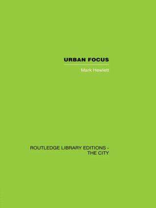 Urban Focus (Hardback) book cover